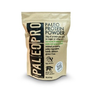 Picture of a bag of Paleo Pro Protein Powder.