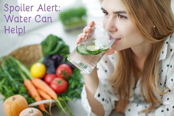 top ten ways to NOT gain weight: water is your secret weapon