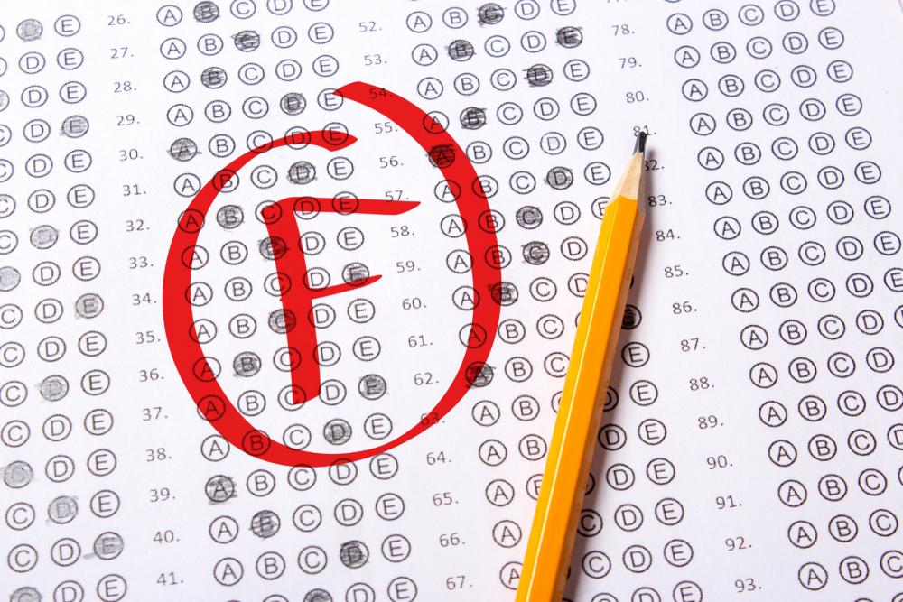 Słabe oceny w szkole