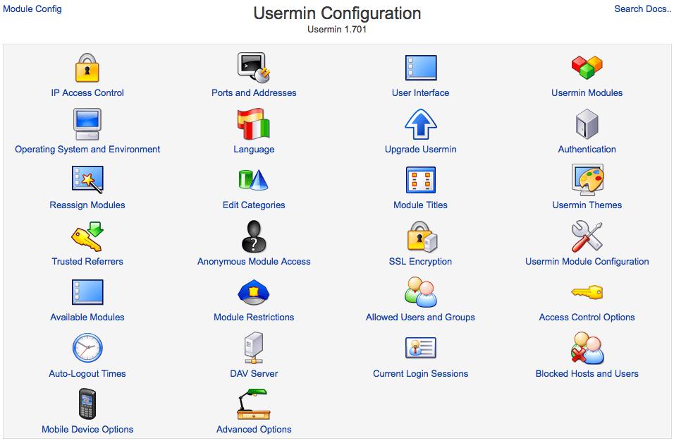 Serveradministration mit Webmin – NOVATREND Blog
