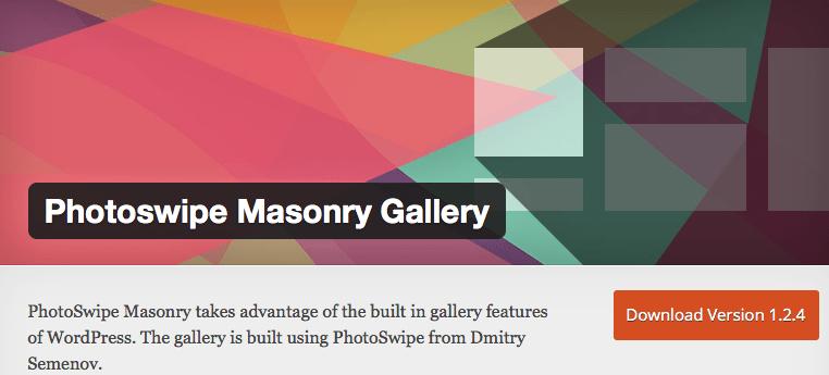 PhotoSwipe Masonry Gallery