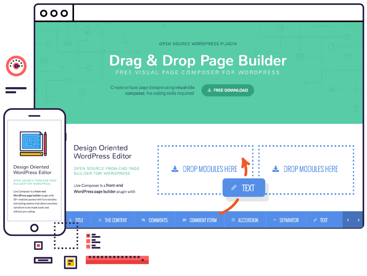Live-Composer Page Builder