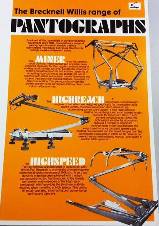 Brecknell-Willis pantograph advert. NRMRef: ALS2/95/E/5