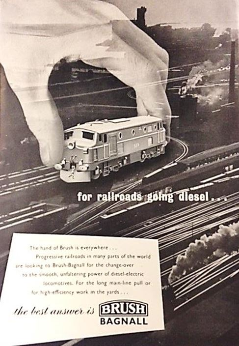 The best answer is Brush Bagnall', Diesel Railway Traction Gazette, 1952. NRM Ref: ALS2/95/D/7