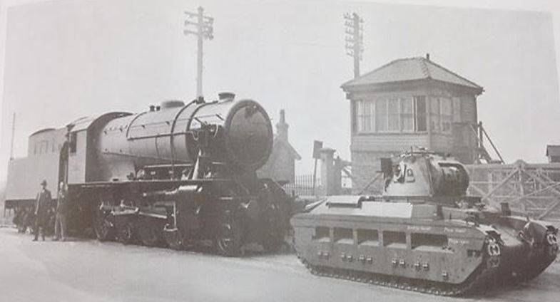 Vulcan Foundry produced 'Matilda' tanks and over 500 'Austerity' locomotives for use during World War Two, Metropolitan-Vickers Gazette. C. 1940s. NRM Ref: ALS2/95/C/7
