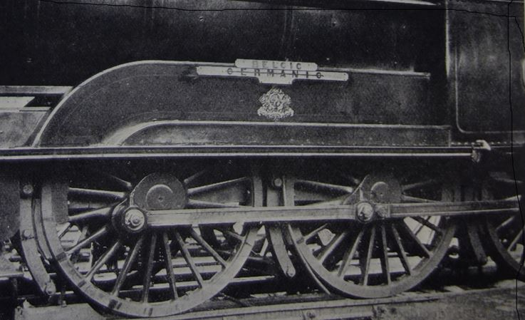 L&NWR Locomotive No.372 pictured in the LNWR Gazette for January 1915