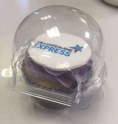 Transpennine Express franchise cupcake