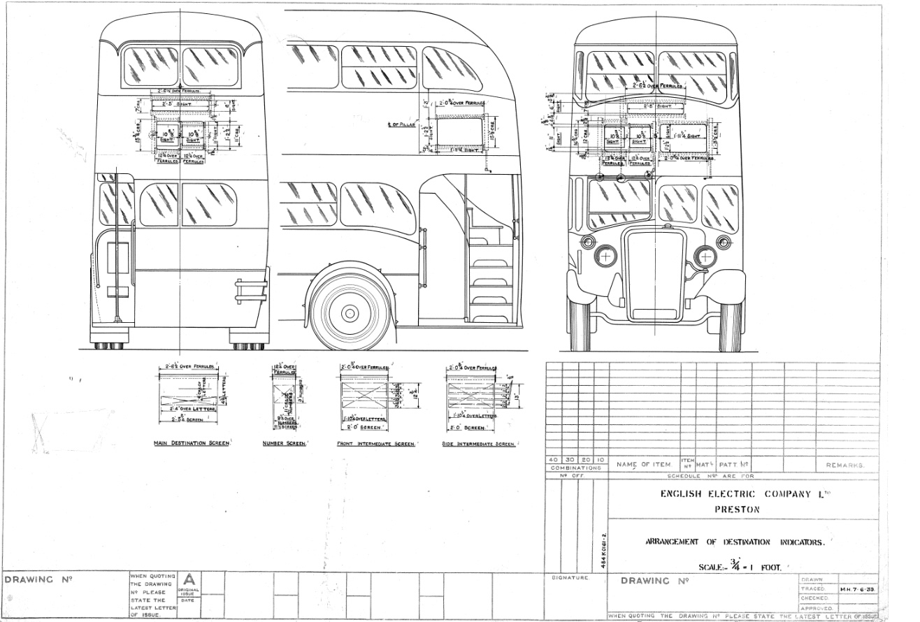 Trams Buses And Tgv S Drawings From The Gec Archives