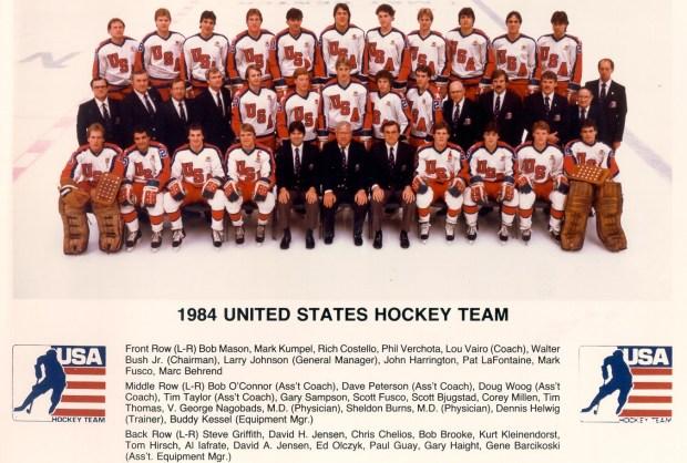 1984 united states hockey team