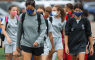 Teams participating in Fall Cup followed NSC COVID-19 safety regulations, which called for masks while off the field.