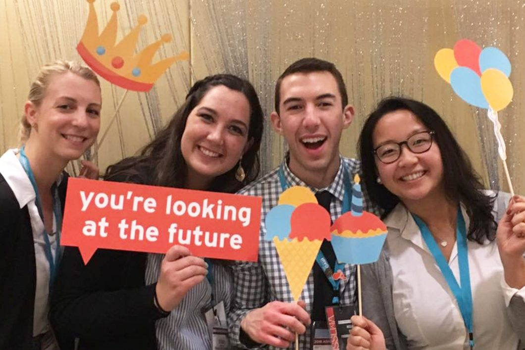 NSSLHA students at 2018 ASHA Convention in Boston