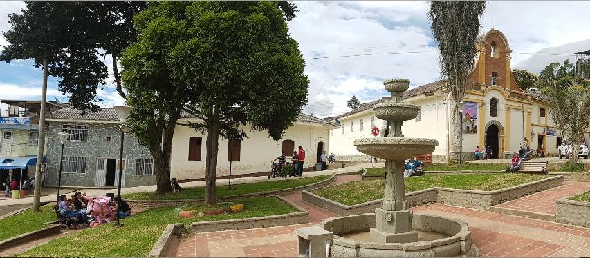 La Parroquia Inmaculada Concepción, en el resguardo indígena de Jambaló, data de 1770 / Gentileza de Fabián Norbey Moreno.