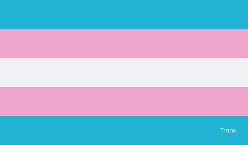 Bandera trans: Orgullo en Nu
