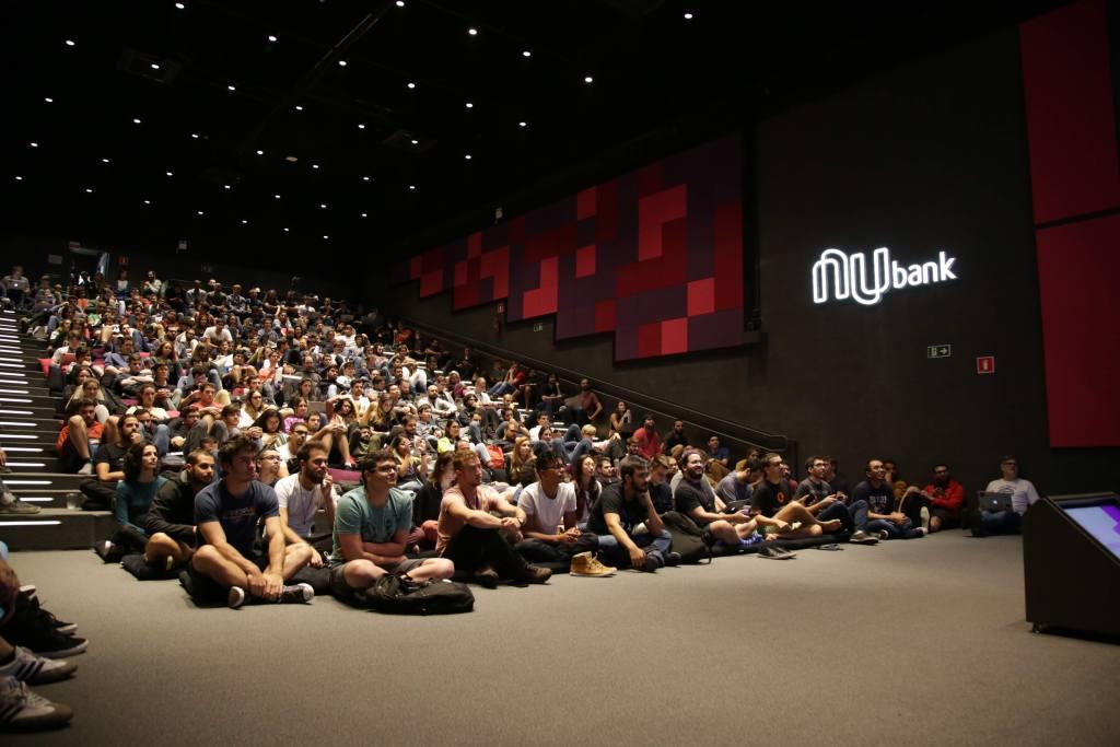 Auditorio do Nubank lotado para a MegaDemo