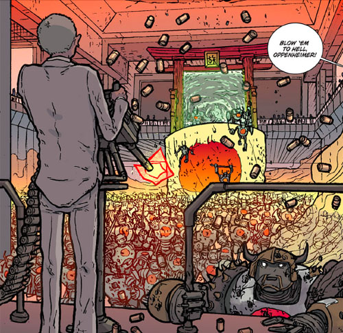 """The Manhattan Projects"""" (Review) 