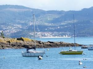 Vistas en la Playa de Baltar - Portonovo - Sanxenxo