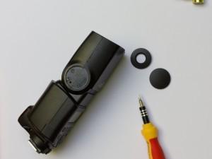 Canon Speedlite 430EX II Streuscheibe reparieren (5/6)