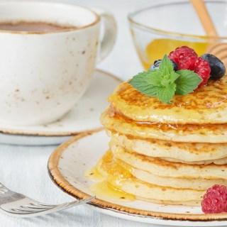 Orange Spice Pancakes