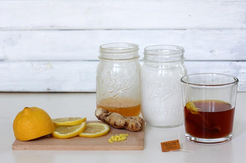 Iced Turmeric Tea Latte