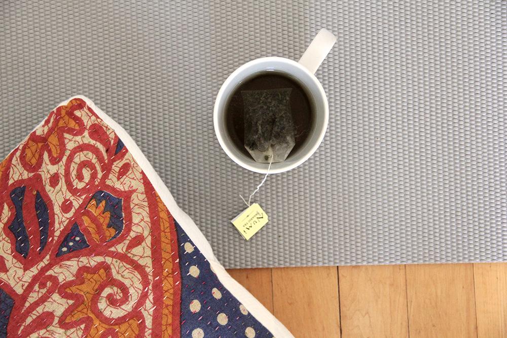 Healthy Habits: Yoga and Tea
