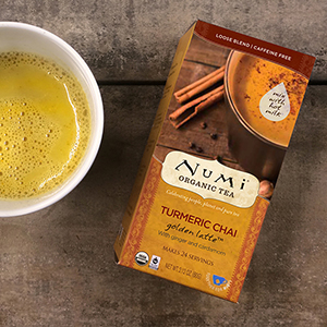Numi Turmeric Chai Golden Latte