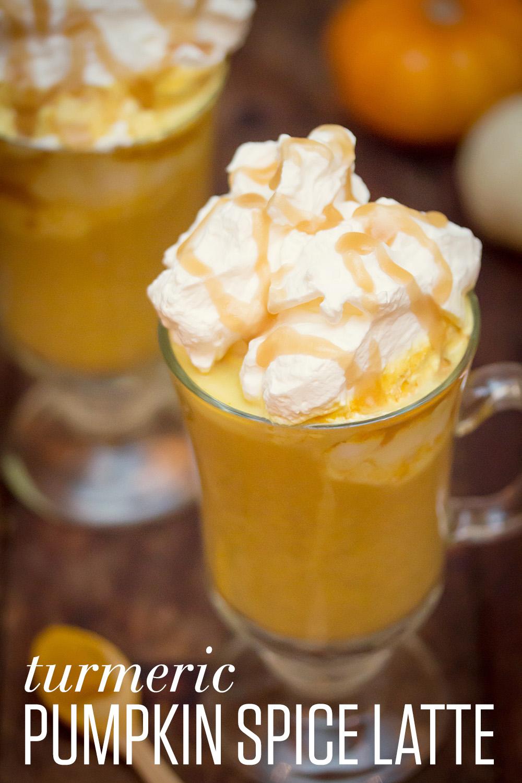 Turmeric Pumpkin Spice Latte