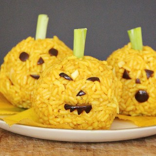 Turmeric Rice Pumpkins