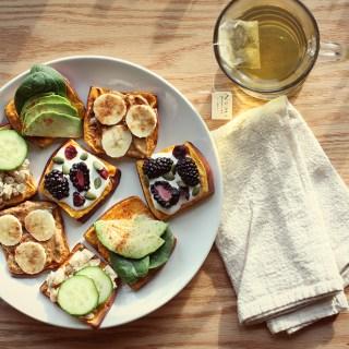 Tea + Toast: Sweet Potato Edition