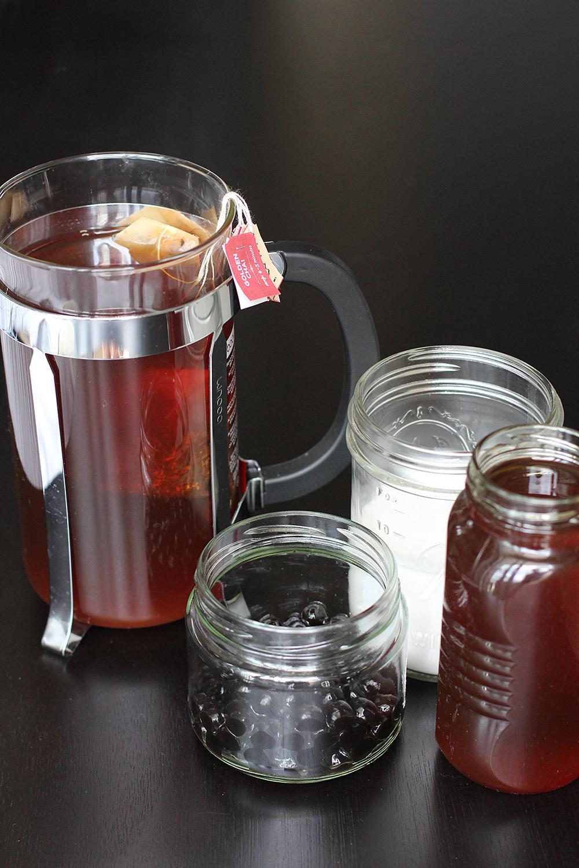 Chai Bubble Tea Ingredients
