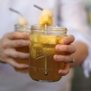 vLychee Asian Iced Tea Cocktail