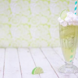 Avocado Lime Tea Float