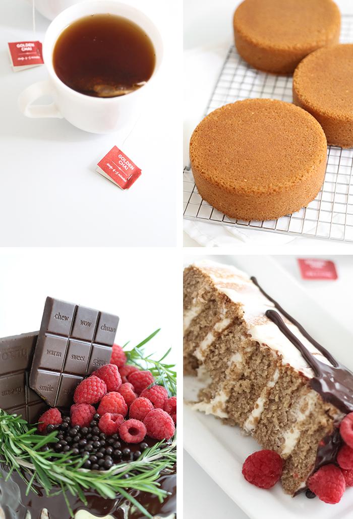 Chai Layer Cake