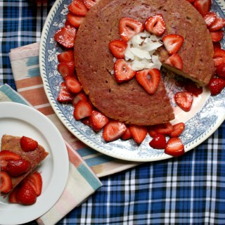 Berried Treasures: Tea-Infused Strawberry Shortcake