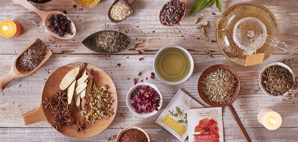Numi Herbal Teas