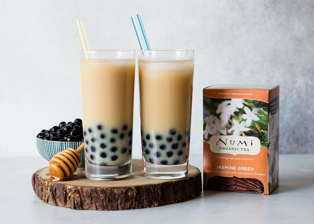 Jasmine Green Bubble Tea Numi Tea Blog