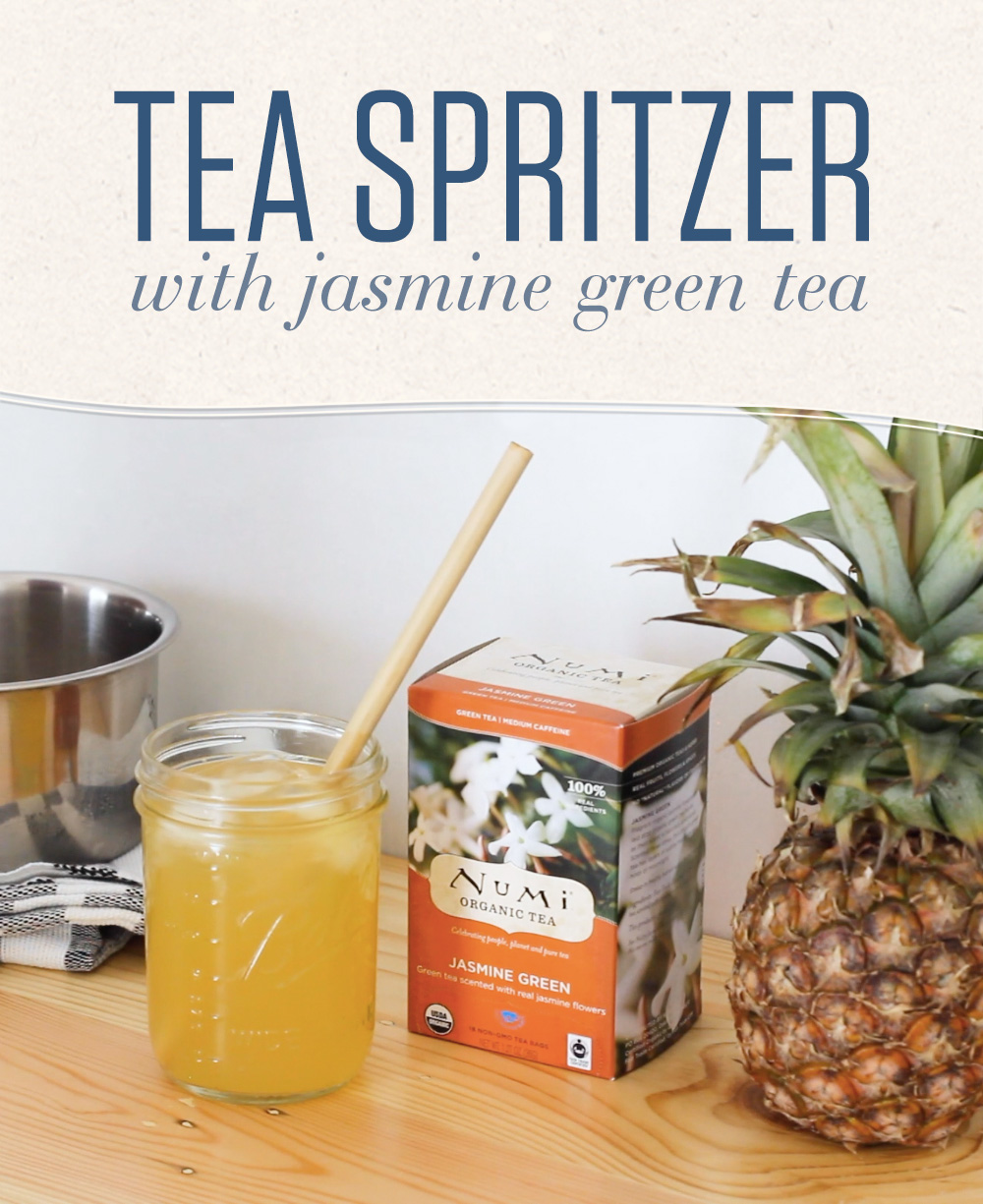 Jasmine Green Tea Spritzer