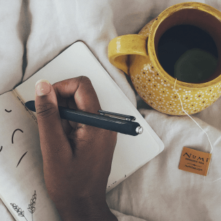 Tea and journal
