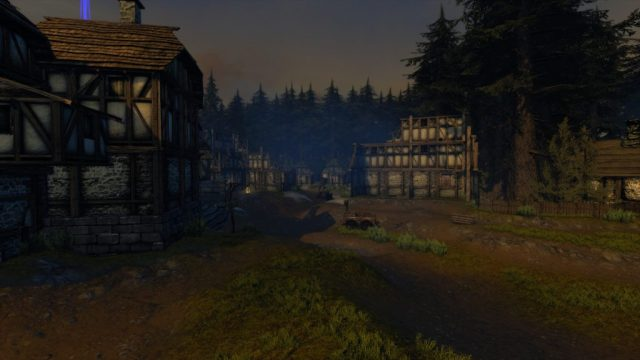 A screenshot of Lonely Wood taken with HDR2 setting enabled