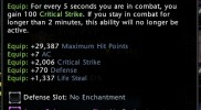 Gravemaster's Habit Tooltip