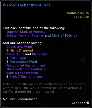 Warden Enchantment Pack Tooltip