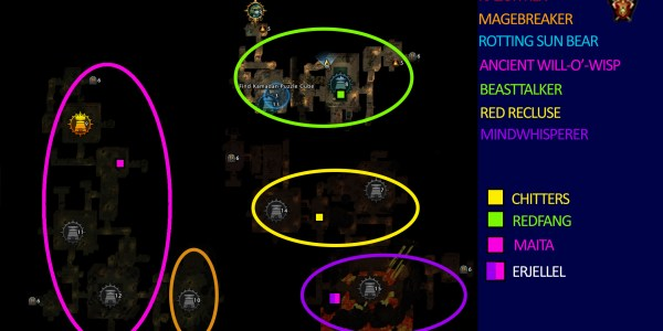 Mod 13 Mob Locations Undercity
