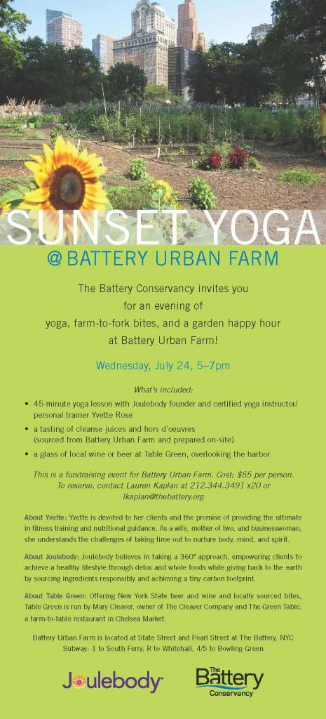 Battery Yoga and Wine