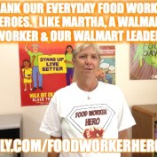 Martha Our Walmart Food Worker Hero