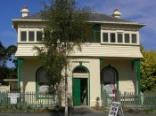Old Waikouaiti Museum building. Image courtesy of Waikouaiti Coast Heritage Centre.