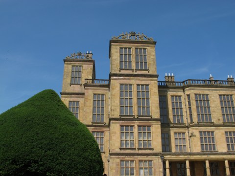 Hardwick Hall. Image courtesy of Finn McCahon-Jones.