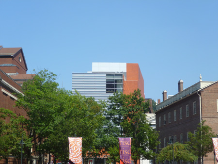 Rhode Island School of Design Museum of Art at the foot of College Hill, Providence.