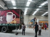 Kaiapoi Museum collection being moved in.