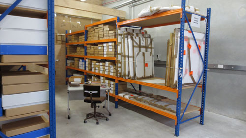 The Anglican Archives in the Canterbury Cultural Collections Recovery Centre.