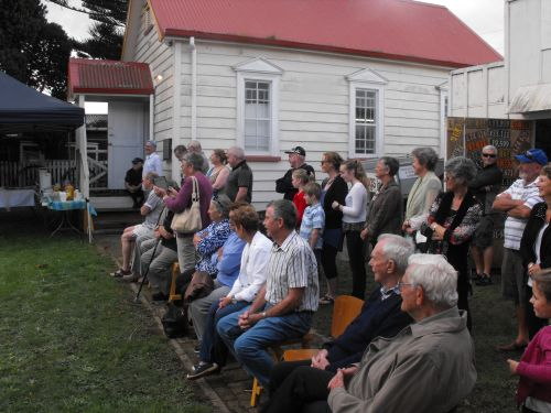Tuakau cloak dedication