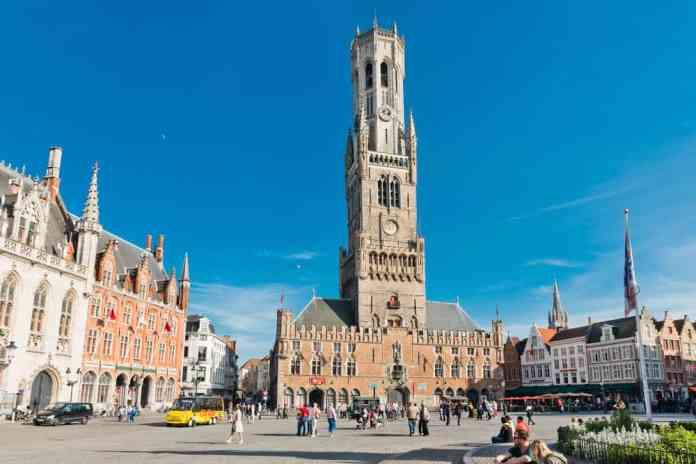 Çan Kulesi (The Belfry Tower) Brugge